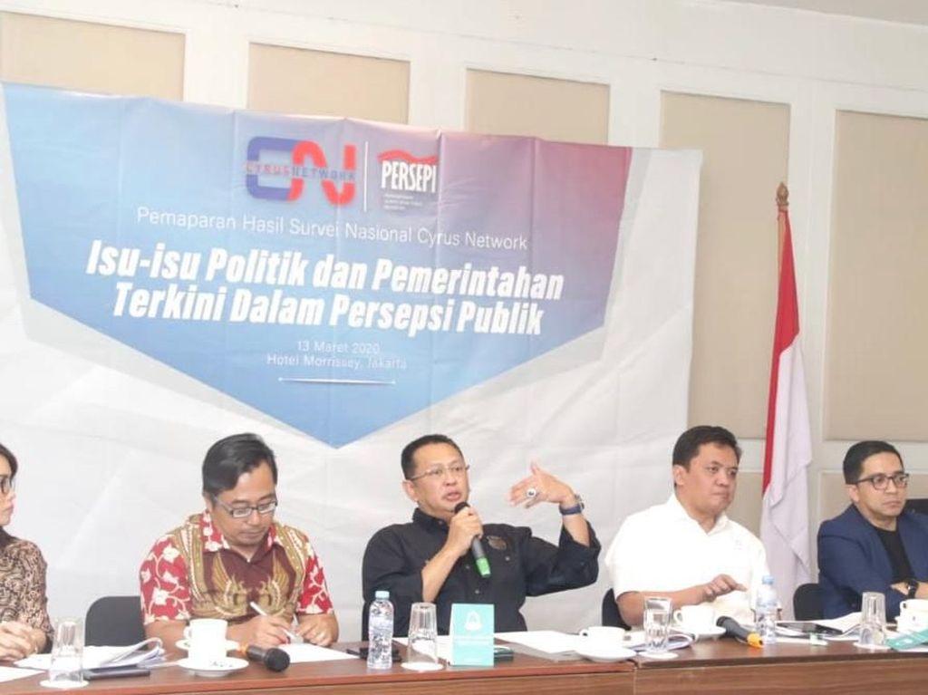 Ketua MPR Optimistis Jokowi Bisa Atasi Perang Dagang hingga Corona