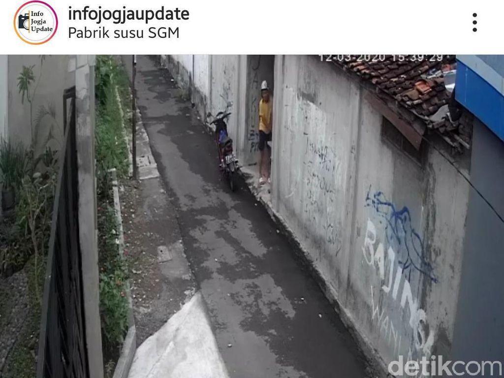 Polisi Buru Pemotor yang Viral Culik dan Buka-buka Rok Bocah di Yogya