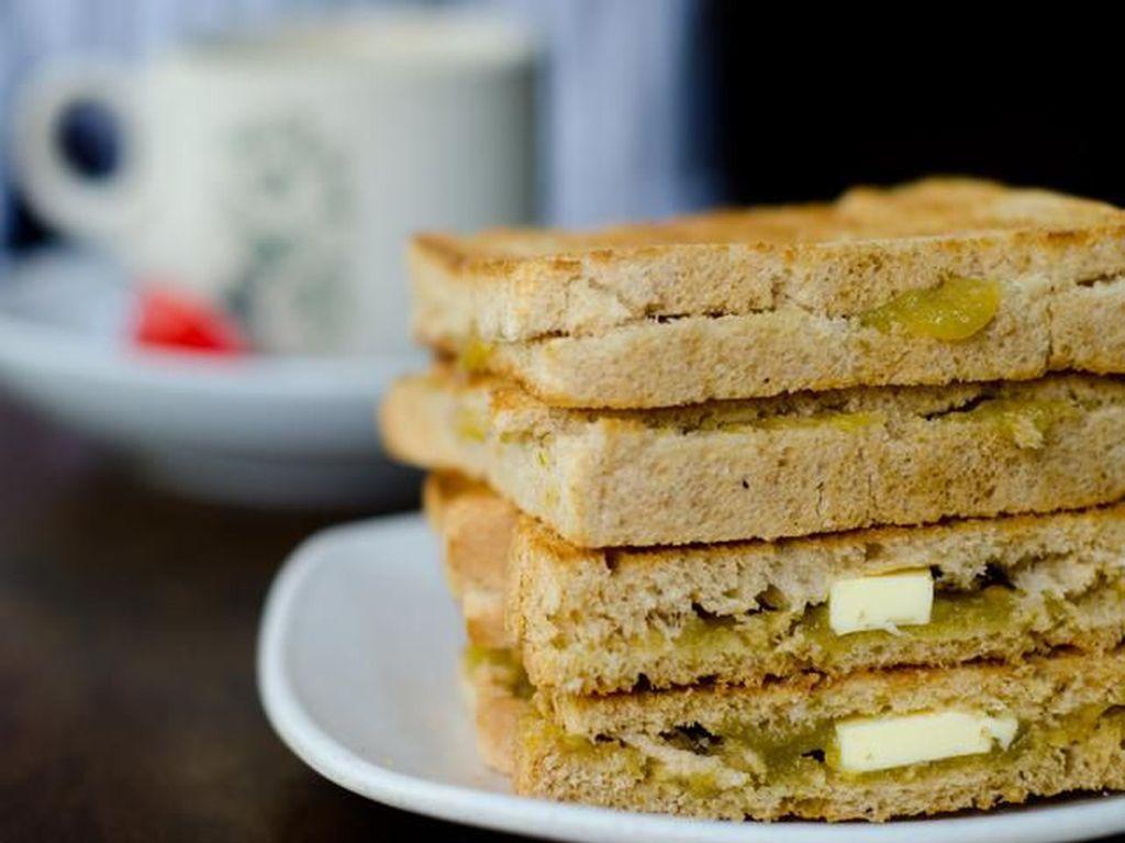 Kaya Toast, Sandwich Tipis Renyah Khas Singapura Isi Selai Srikaya