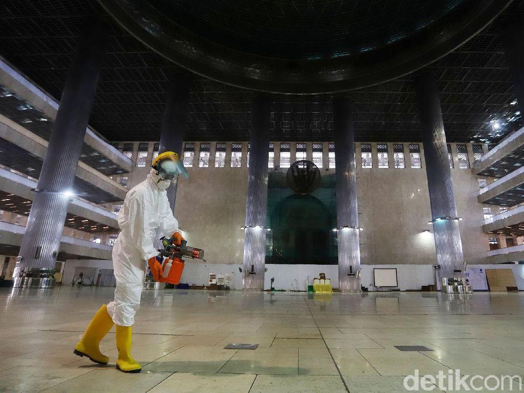 KSP: DKI Jakarta Daerah yang Diwaspadai terkait Corona