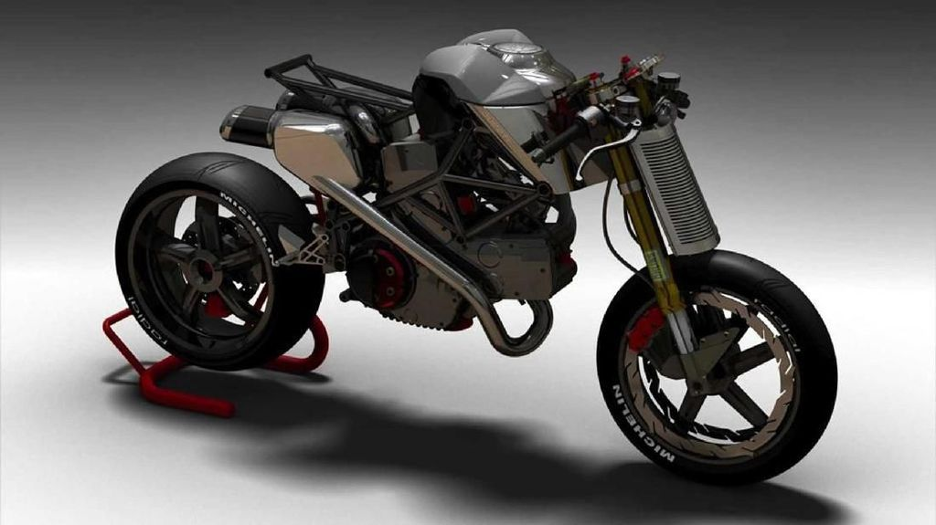 Ducati Monster ala Alien Punya Tampang Angker