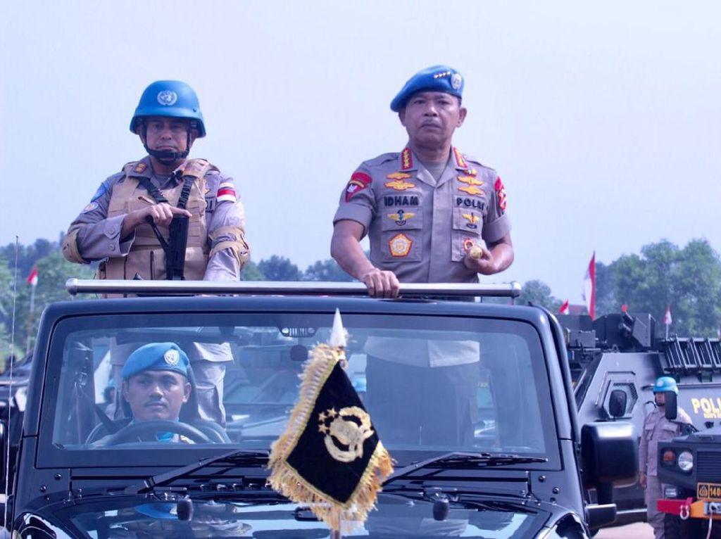 Kapolri Siapkan 154 Personel Untuk Jalani Misi Perdamaian Dunia