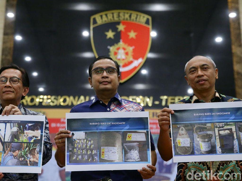 Polisi Tetapkan Karyawan Batan Jadi Tersangka Kasus Radioaktif