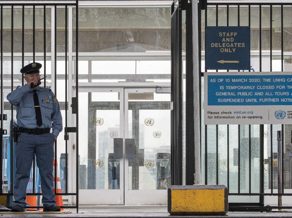 Imbas Corona, Sekjen PBB Minta 3 Ribu Staf Bekerja dari Rumah