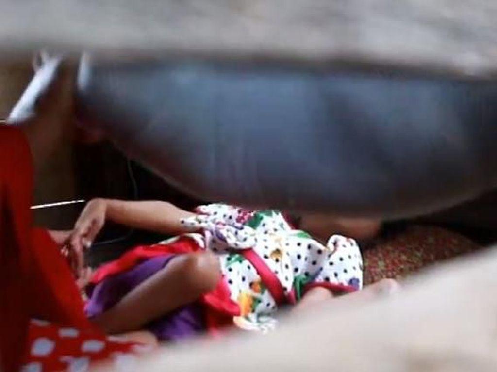 Tak Ada Biaya, Bocah Penderita Lumpuh Sudah 8 Tahun Tak Berobat