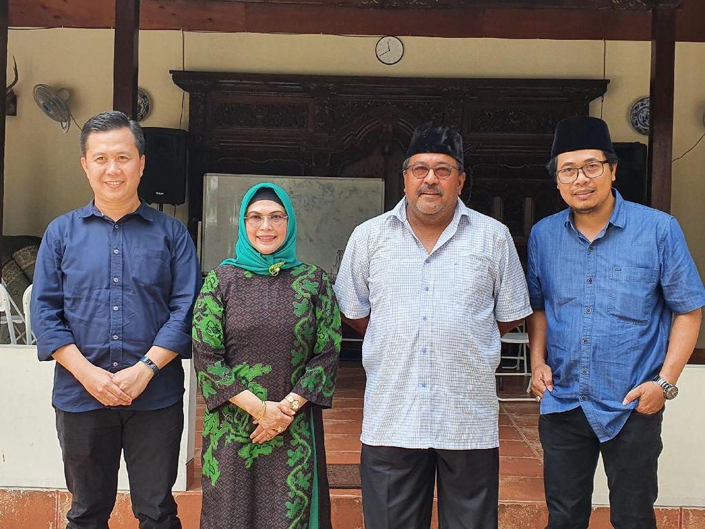 3 Bakal Cawalkot Tangsel Sowan ke Rano Karno, Ada Putri Maruf Amin