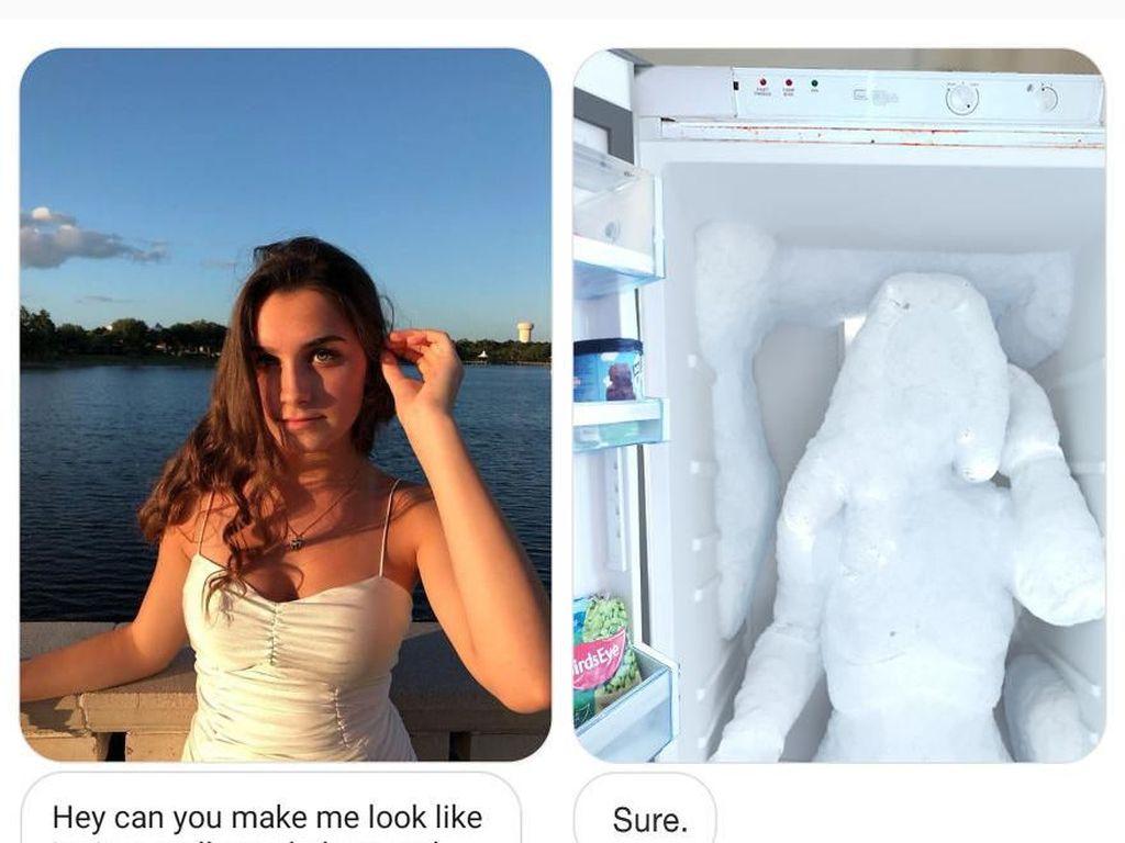 Ngakak! Editan Pakar Photoshop yang Kabulkan Permintaan Netizen