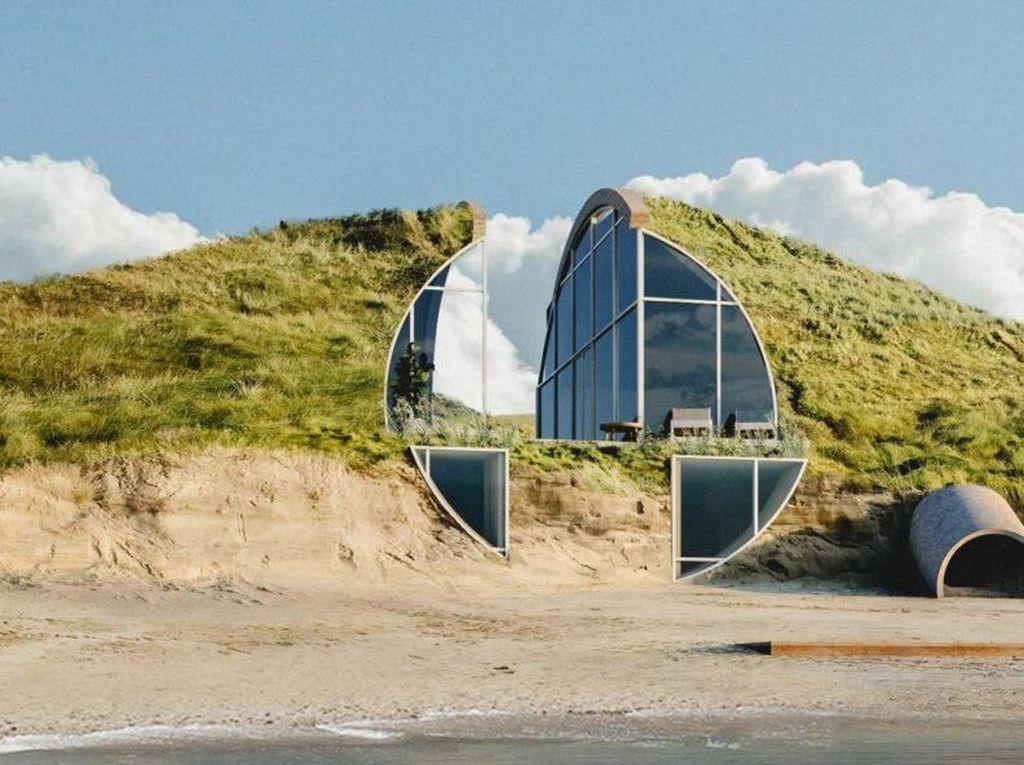 Asli! Rumah di Pinggir Pantai Ini Dijamin Nggak Bikin Bosan