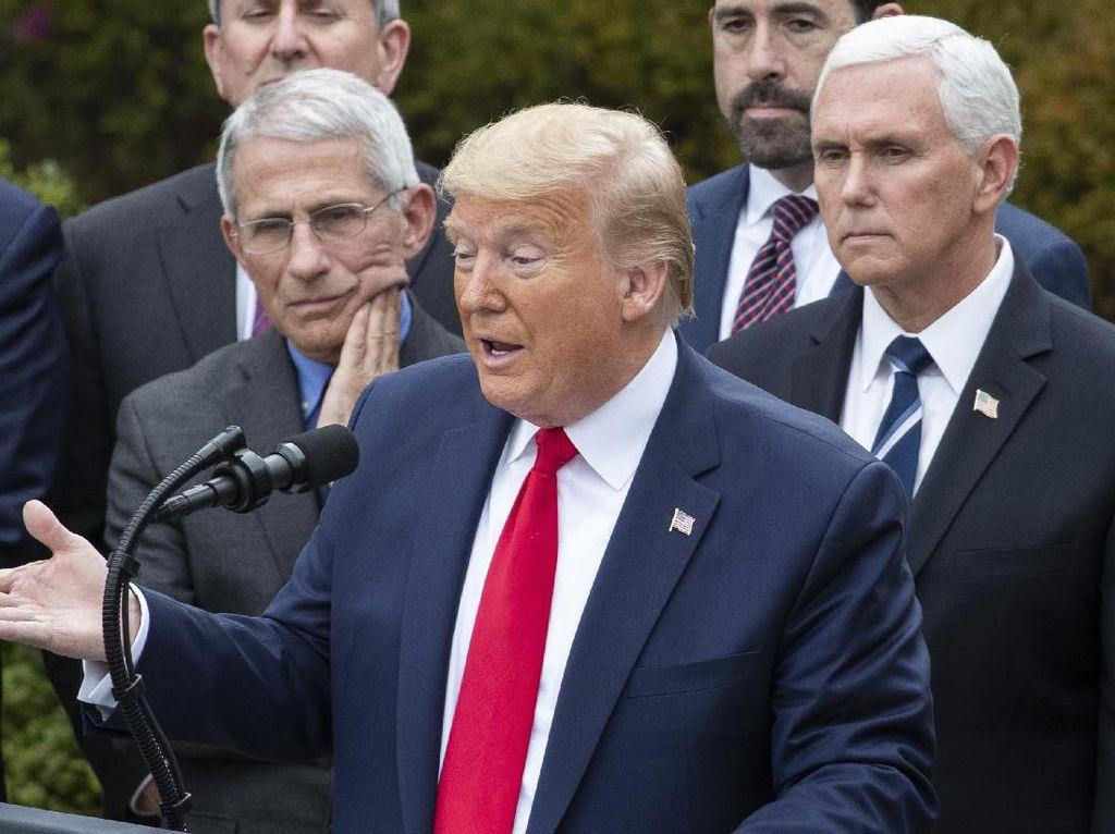 Kebingungan Trump Usai Bikin Sederet Kontroversi soal Corona