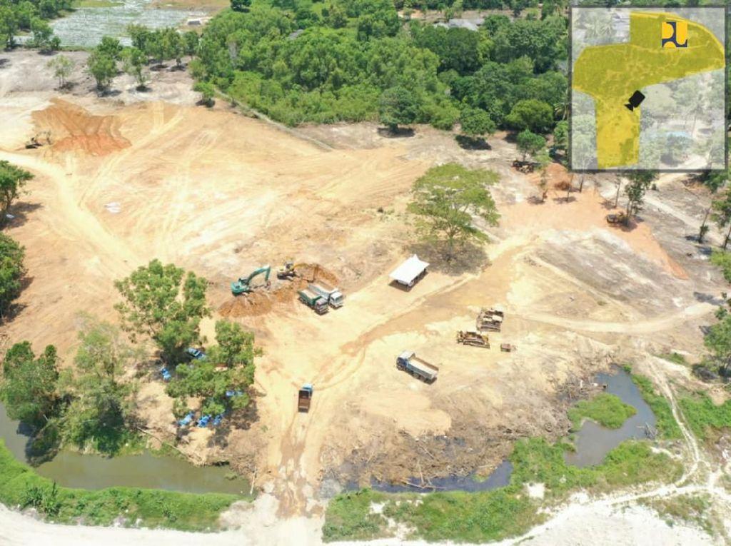 Potret Pembangunan Rumah Sakit Khusus Corona di Batam