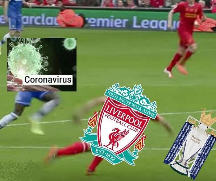 Meme Corona Liverpool 1