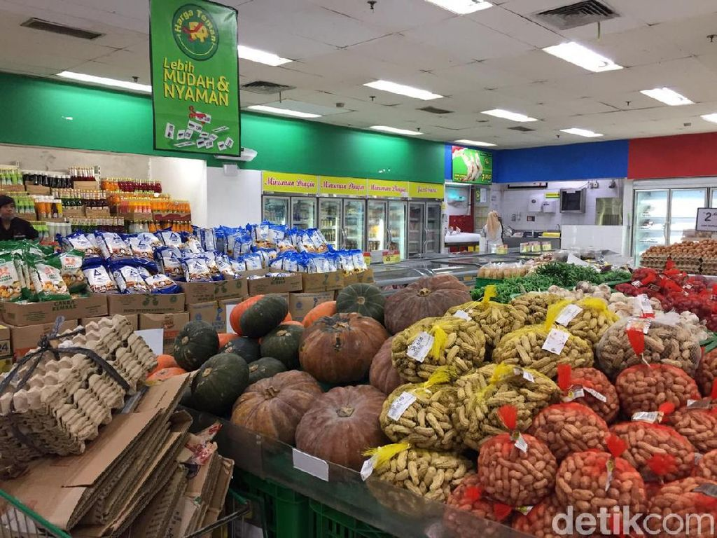 Supermarket Masih Aman dari Panic Buying