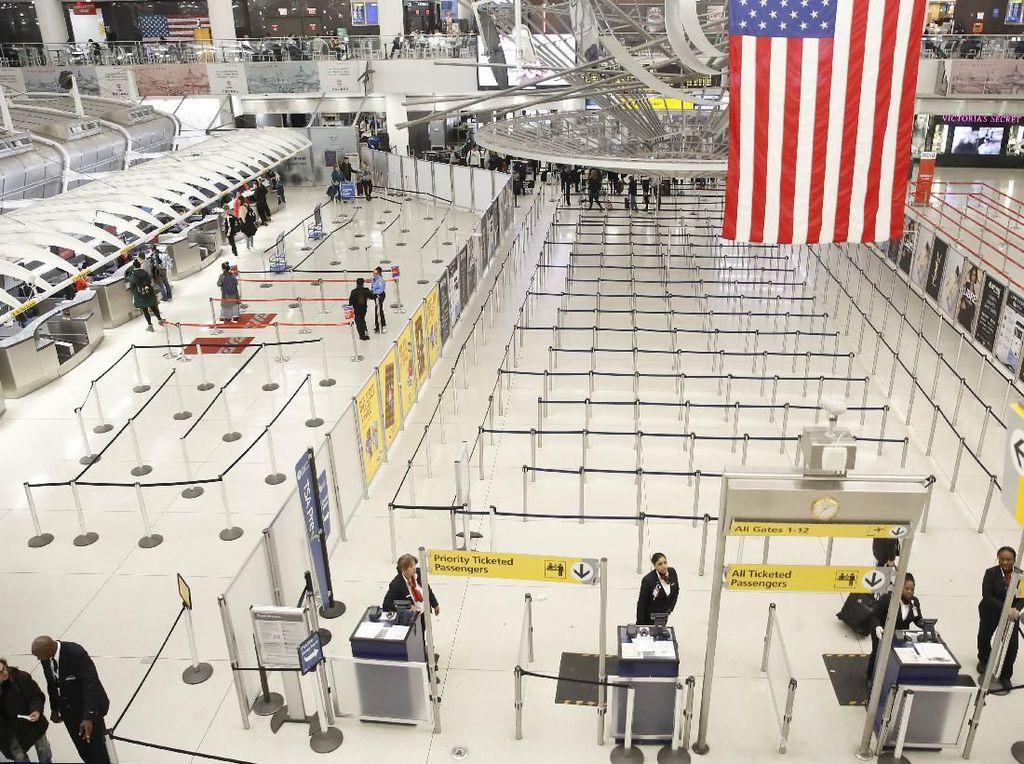 Pencurian Tas di Bandara New York Dibongkar, Kerugiannya Rp 88 M