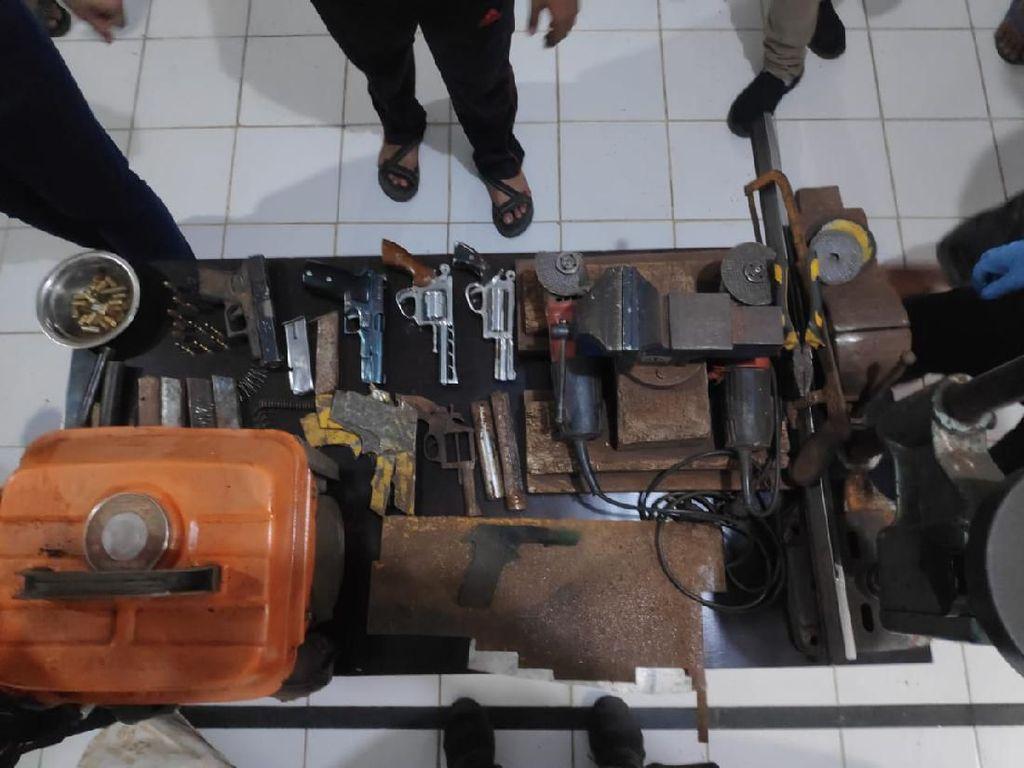 Serang Polisi, Produsen Senpi Home Industry di Sumsel Ditembak Mati