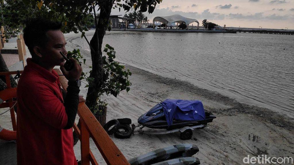 Corona Bikin Pantai Ancol Jadi Perawan