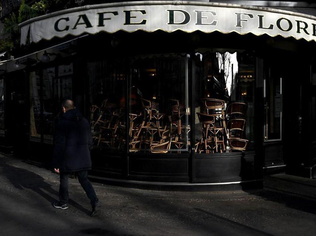 Kafe di Prancis Tak Takut Perang, tapi Keok oleh Corona