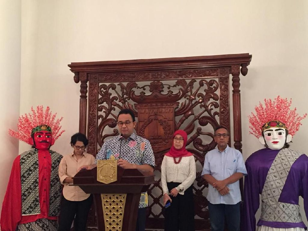 Anies: Stok Kebutuhan Pokok Jakarta Aman hingga 2 Bulan ke Depan