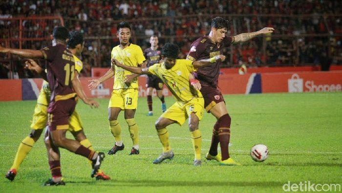 PSM Makassar vs Barito Putera, Minggu (15/3/2020).