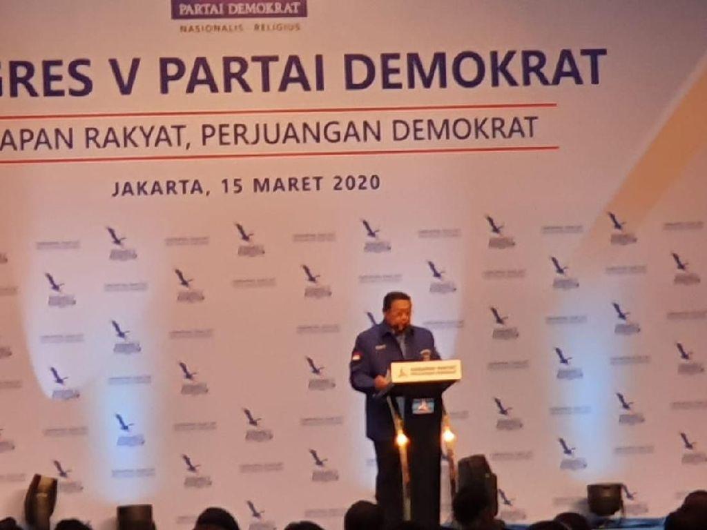 SBY Minta Demokrat Dukung Pemerintah Tangani Virus Corona