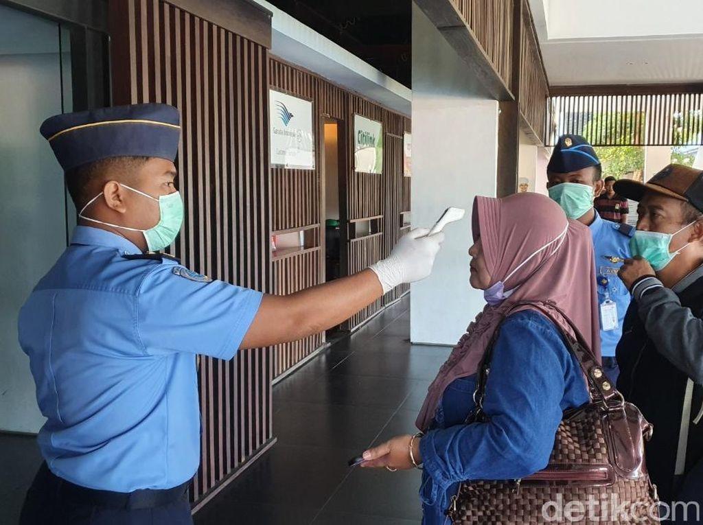 Antisipasi Corona, Ini yang Dilakukan Bandara Banyuwangi