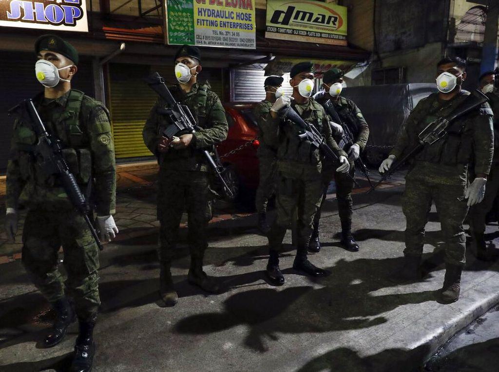Filipina Akan Tembak Mati Pelanggar Lockdown