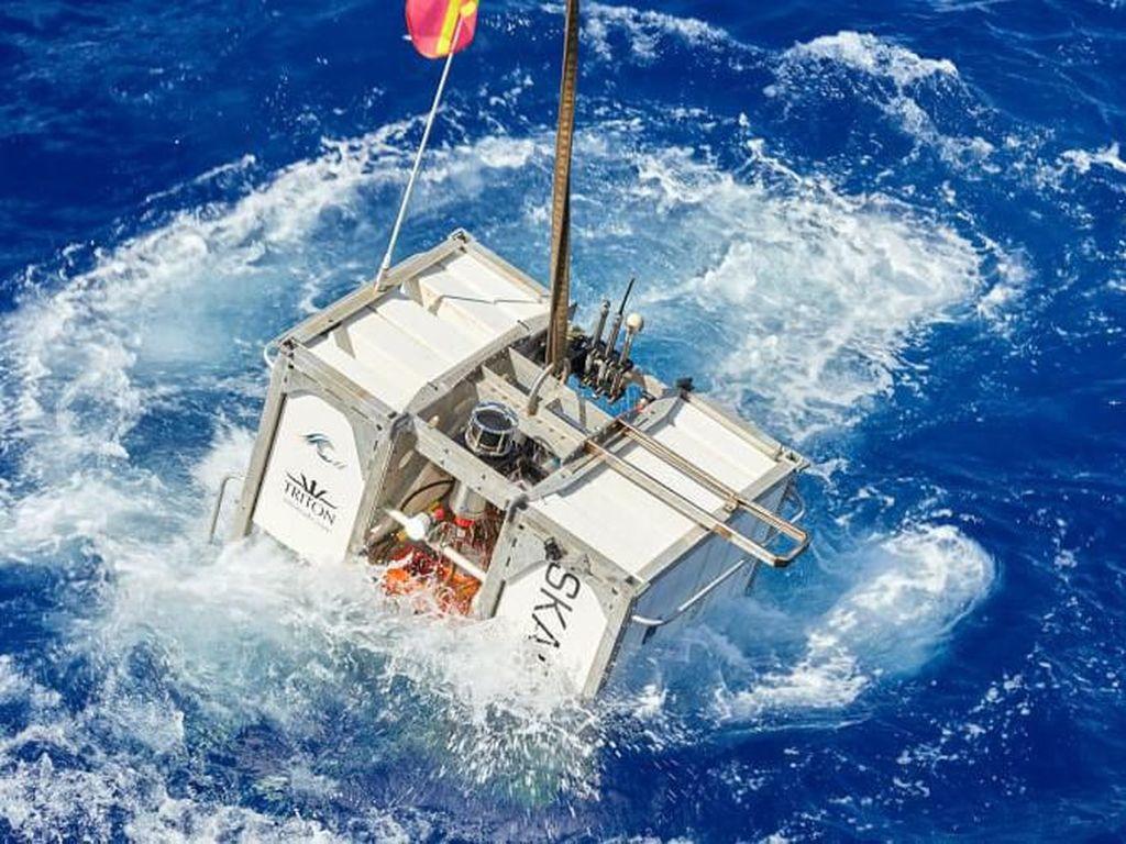 Gambaran Ekspedisi Umum ke Titik Terdalam Lautan