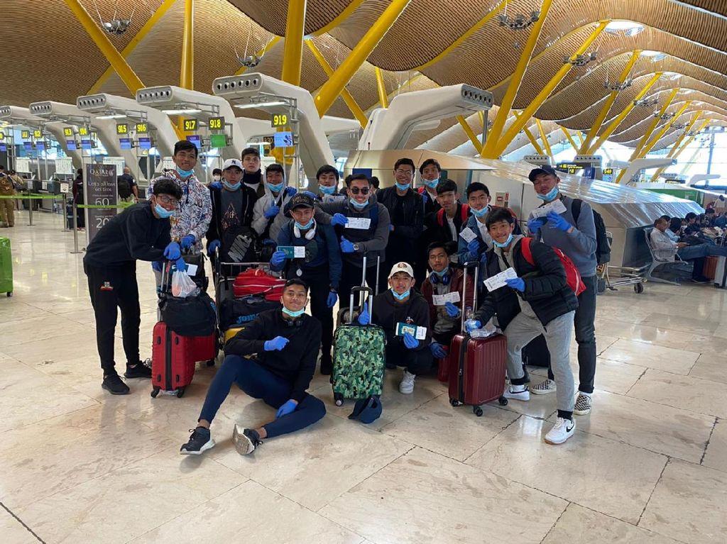 Imbas Corona, 28 Pemain Vamos Indonesia Dipulangkan dari Spanyol