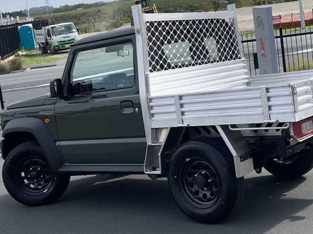 Dijual Suzuki Jimny Versi Pick-Up, Minat?
