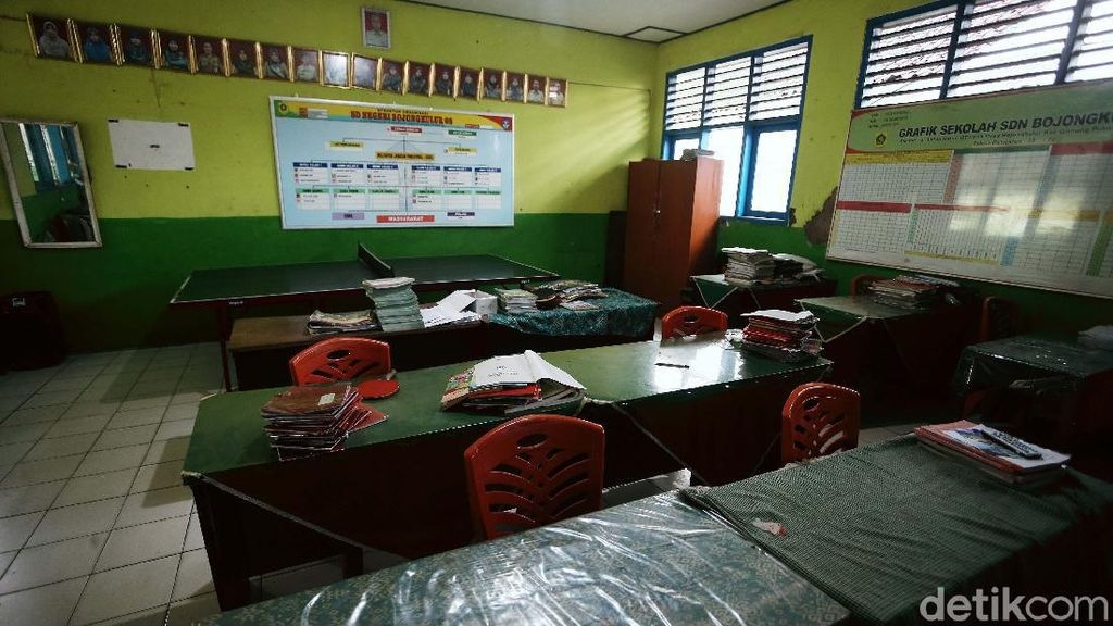 Cegah Virus Corona, SDN Bojongkulur Bogor Diliburkan 2 Pekan