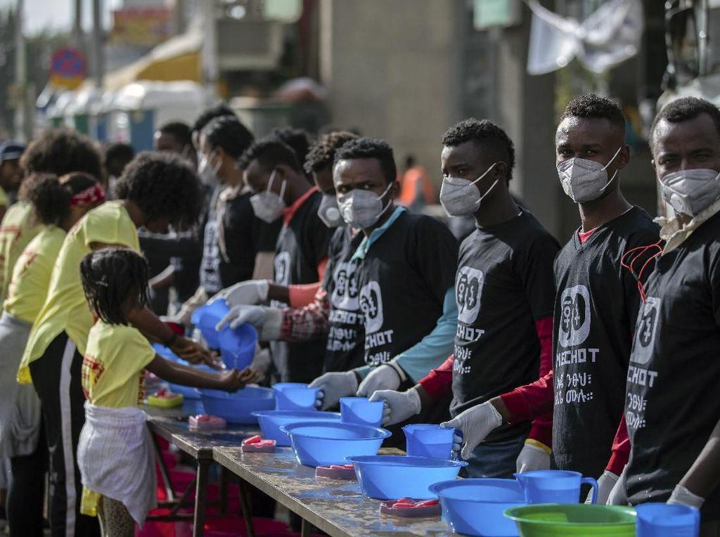 Tegas! Ethiopia Terapkan Hukuman Dua Tahun Penjara Bila Tak Pakai Masker