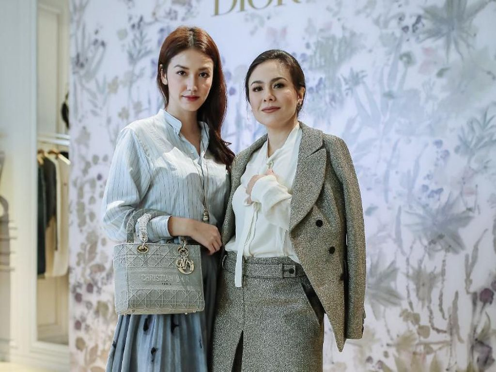 Cantiknya Velove Vexia Hingga Wulan Guritno Pakai Koleksi Terbaru Dior