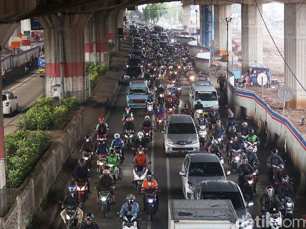 Ganjil-Genap Pengganti Penyekatan PPKM Jakarta Tak Berlaku untuk Motor