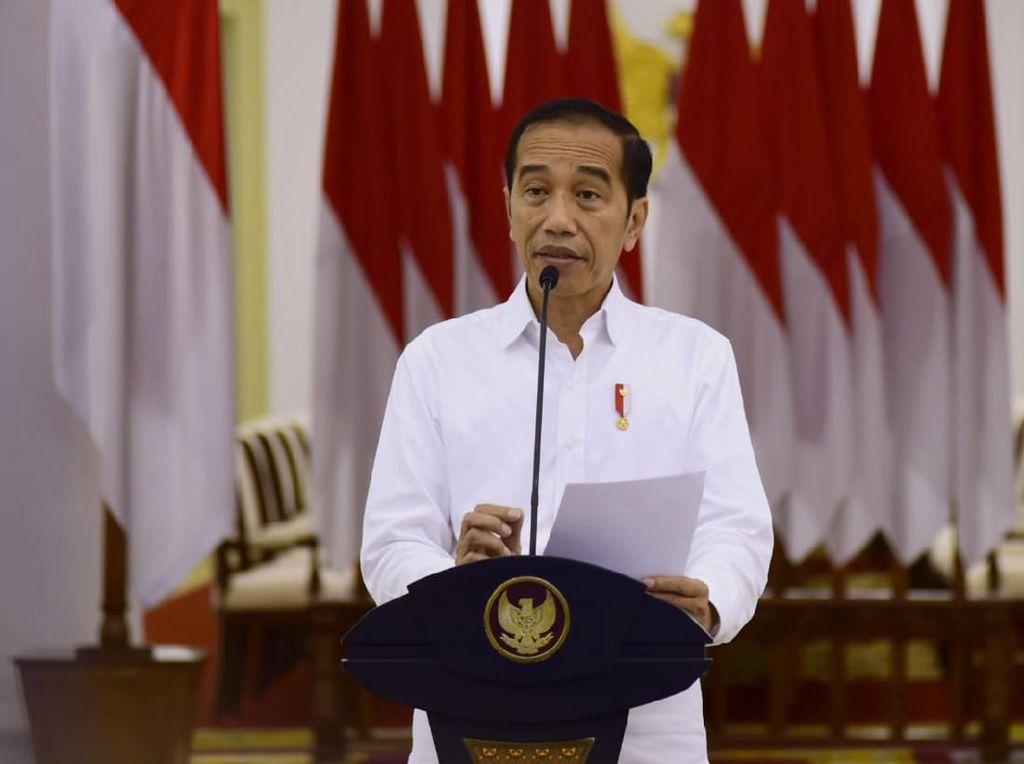 Jokowi dan Jajaran Menteri Peringati Hari Lahir Pancasila secara Virtual