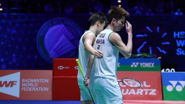 Kevin Sanjaya/Marcus Gideon jadi runner-up All England 2020.