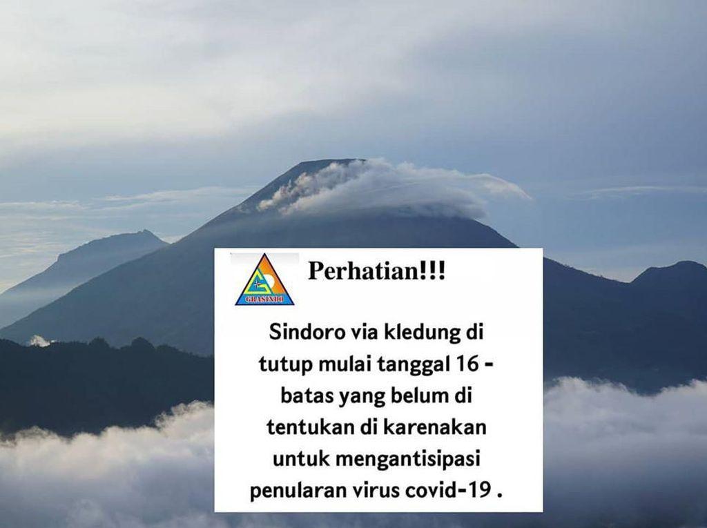 Daftar Gunung di Jateng yang Tutup Karena Corona