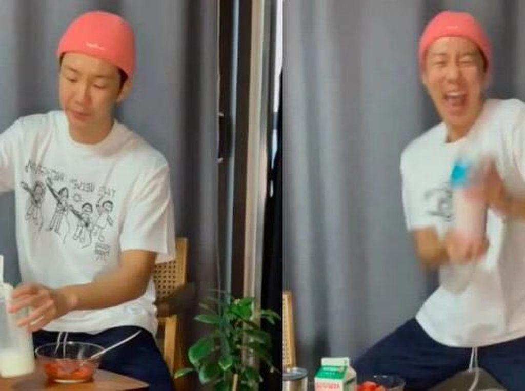 Seunghoon WINNER Pamer Bikin Milkshake Stroberi, Jangan Ditiru!