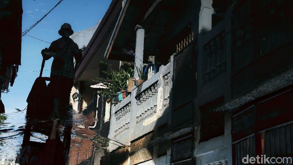 Permukiman di Jakarta Timur Tergenang Imbas Hujan Deras Semalam
