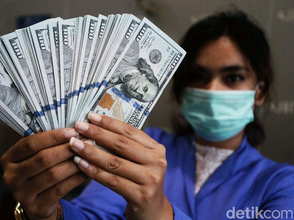 Dolar AS Menguat ke Level Rp 14.450