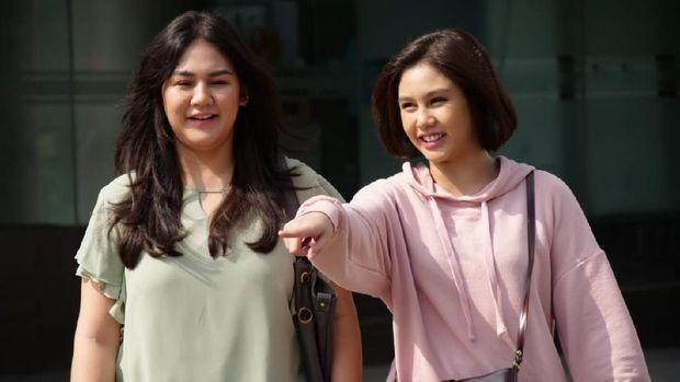 vanesha prescilia bersama sang kakak, Sissy Priscilia