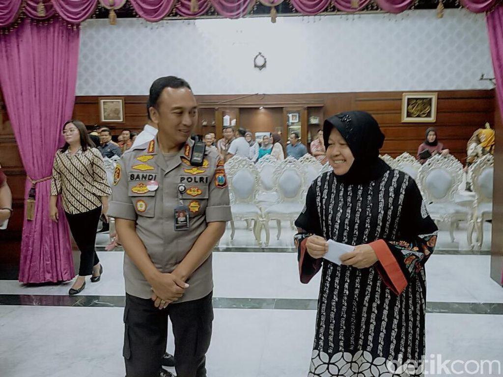 Risma Apresiasi Polisi Surabaya yang Amankan 7 Juta Pil Koplo
