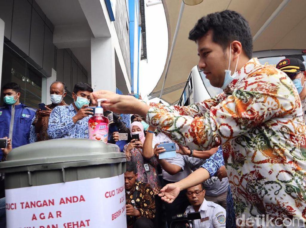 Pastikan Jatim Bebas Corona, Wagub Emil Tinjau Kesiapan Terminal di Batu