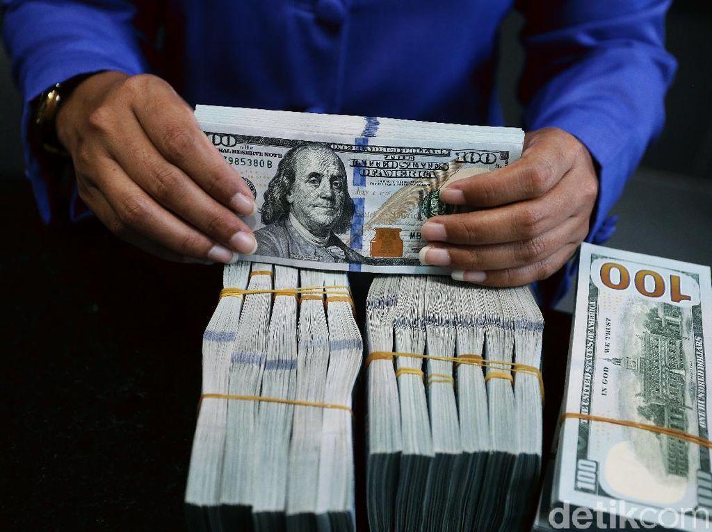 Dolar AS Ngamuk Lagi ke Rp 14.400