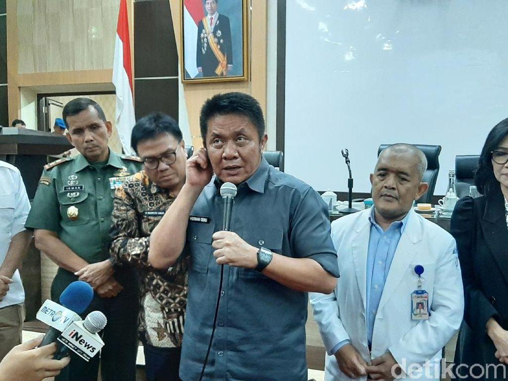 Gubernur Sumsel: Pria Kena Corona Usai Salaman dengan Menhub Hoax, Usut!