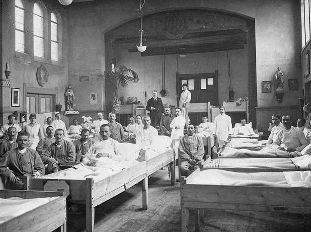 Dulu Flu Spanyol 3 Gelombang, COVID-19 Mau Berapa Gelombang?