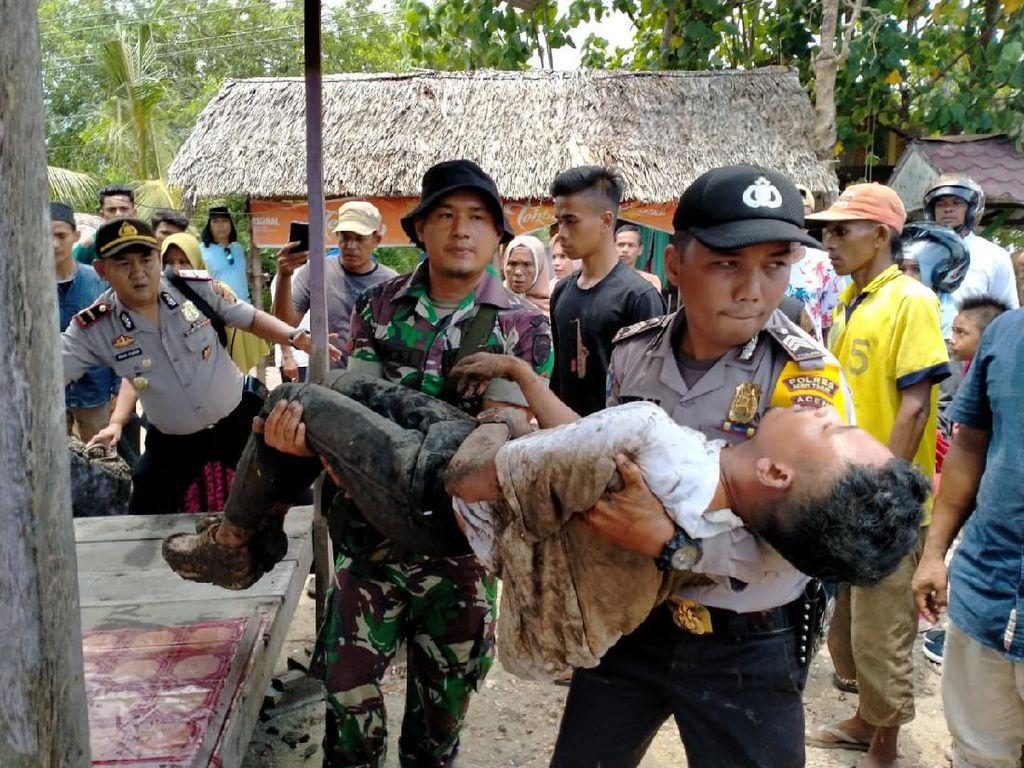 Ngaku Dirampok, Pemuda Tangan Terikat di Sungai Aceh Ternyata Cuma Rekayasa