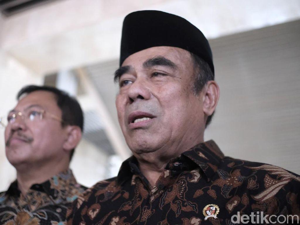 Digantikan Yaqut, Fachrul Razi: Saya Berasumsi Pilihan Presiden Tepat
