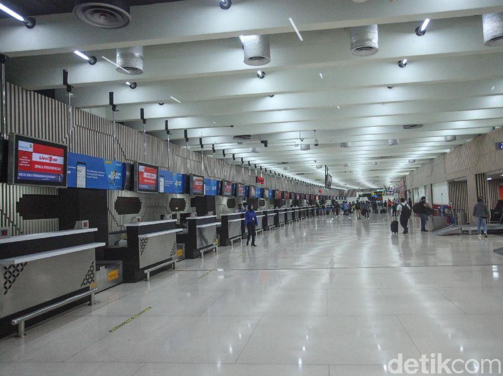 Tidak Seperti Kemarin, Pagi Ini Bandara Soetta Sepi