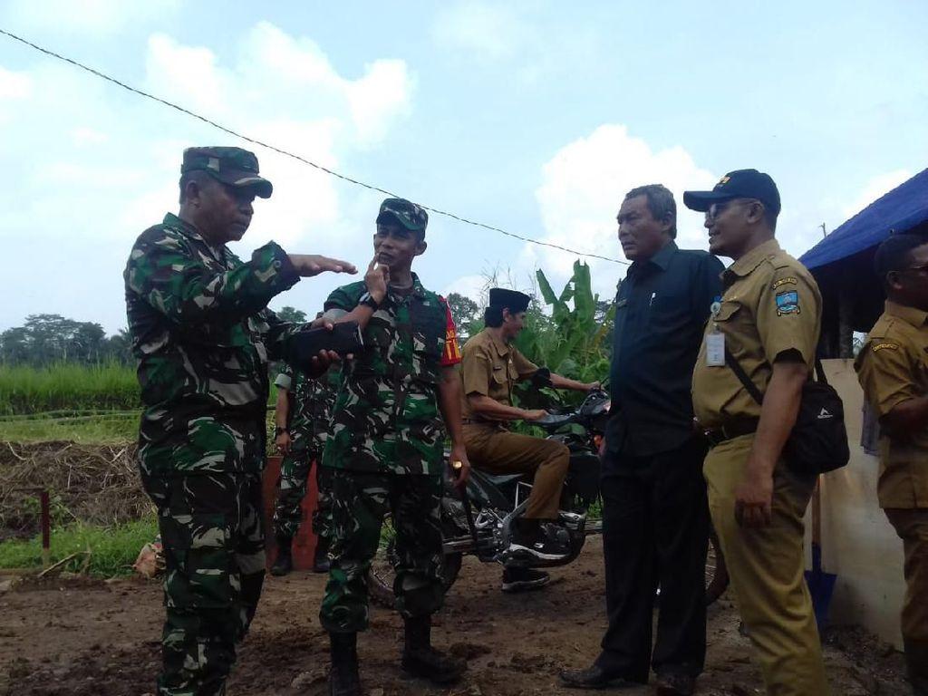 TMMD ke-107, Kodim Kabupaten Serang Fokus Bangun Infrastruktur Desa