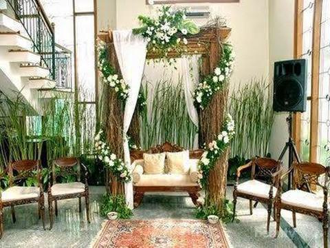 rekomendasi dekorasi pelaminan di rumah yang sederhana