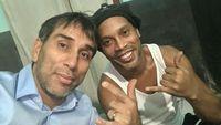 Penjara Paraguay Larang Ronaldinho Terima Tamu Lagi